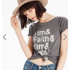 Lucky Brand S2S Tim McGraw+Faith Hill Graphic Tee
